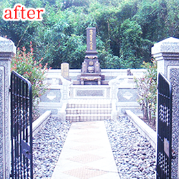 お墓の補修(after)